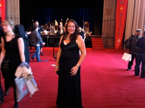 After my final performance at the Kennedy Center