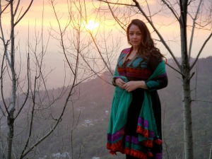 Sunset in Dharamsala